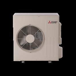 Mitsubishi muz gl24na heat pump outdoor condenser for Fujitsu mini split fan motor replacement