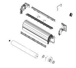 K9314245015 Box Switch Inner Assy HY# Plastic Gray W/Metal Plates