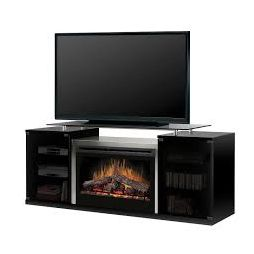 Dimplex Marana SGFP-500-B Media Console Glass Ember Bed Fireplace